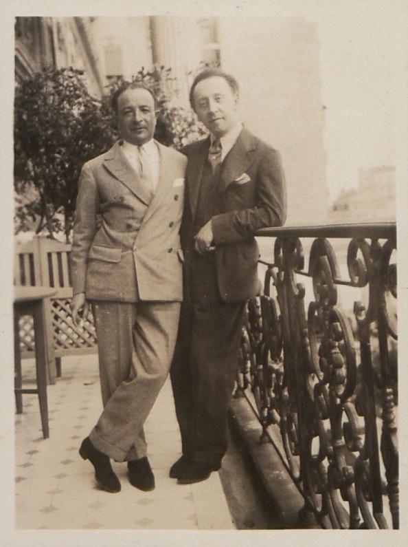 Pawel Kochański i Artur Rubinstein